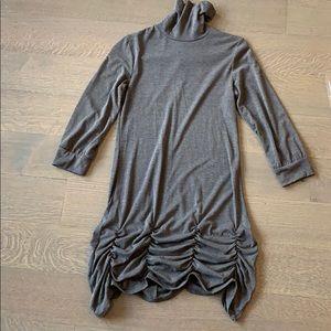LF Gray Turtleneck dress